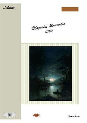 Mazurka Romantic 19Th Century For Easy Piano Solo Soutullo
