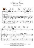 Agnus Dei guitar fingerstyle score download