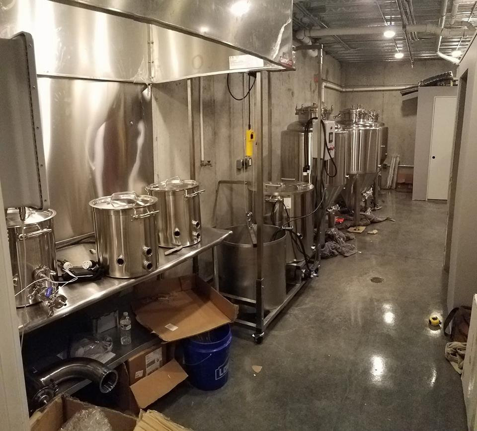 Extract Brewing Session
