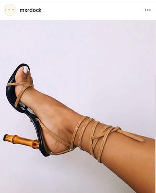 Babe X GUCCIXTOMFORD Bamboo Heels