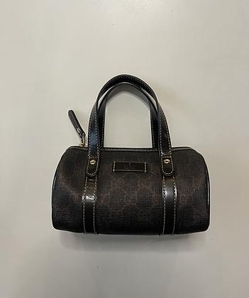 Gucci Monogram Mini Boston Bag