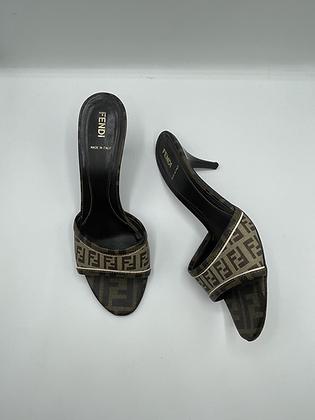 FENDI Monogram Heels