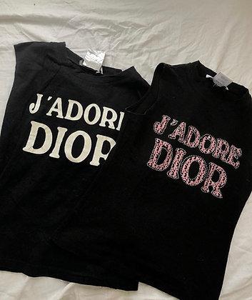 """DIOR """"J'adore Dior' TOP"""