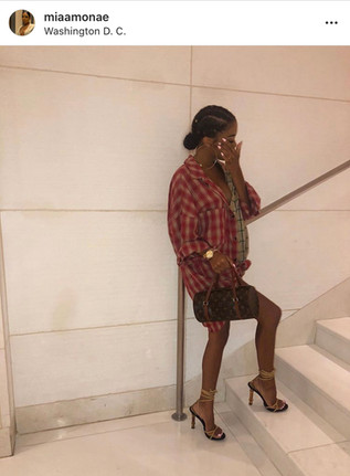 Babe X GUCCIxTOMFORD Bamboo Heels & LOUIS VUITTON Pap