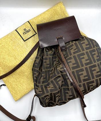 Fendi Zucca Backpack