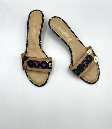 Louis Vuitton Multicolored Mini Heels
