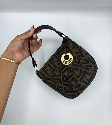 FENDI Monogram Mini Chief Bag
