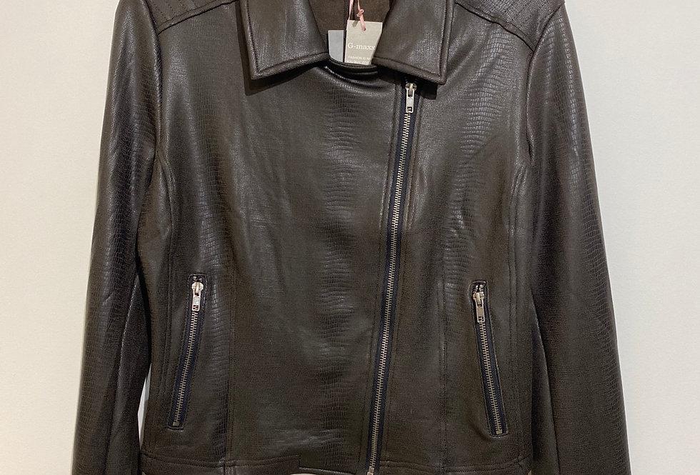 Annelies Jacket zwart/bruin