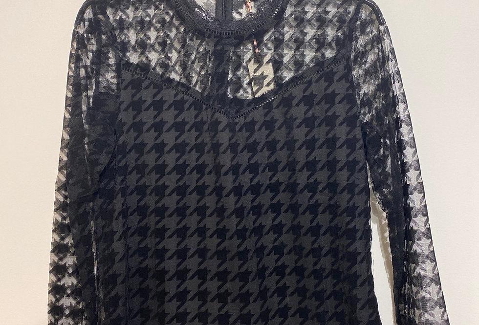 Cilla Longsleeve zwart