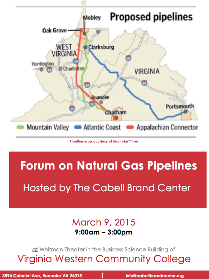 CBC will Convene Expert Natural Gas Pipeline Forum on March 9th