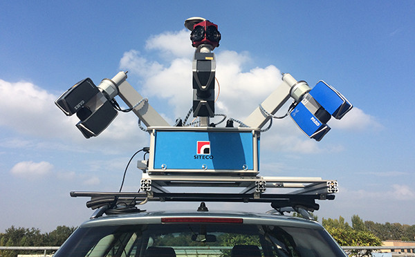 Example of Mobile LiDAR – FARO Devices Assembled on SITECO Mobile LiDAR Platform