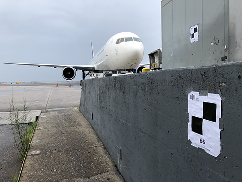 BIMNYC during JFK laser scanning