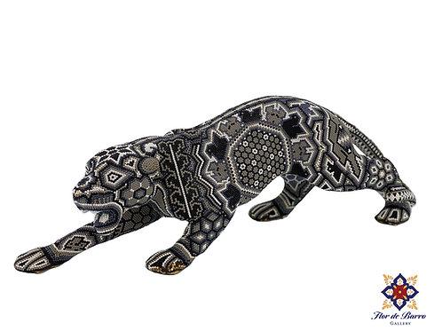 Wixarika: Beaded Panther