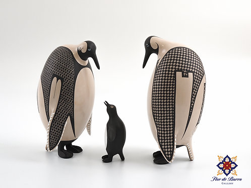 Penguin Family by Jerardo Tena