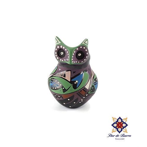Minerva Pedregon: Colorful Mini Owl