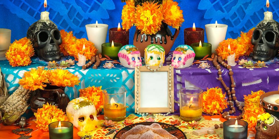 Dia De Muertos: Bread & Altar