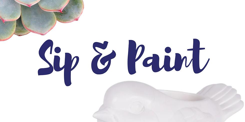 Sip & Paint: Succulent Planter