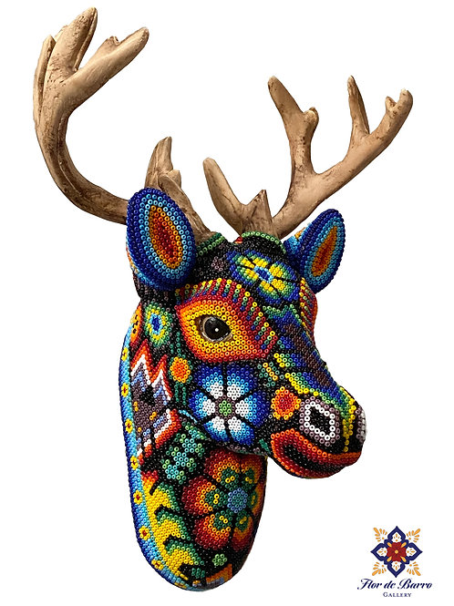 Wixarika: Deer Heads