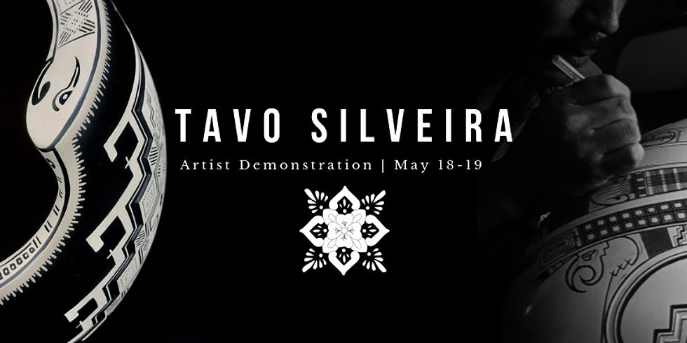 Tavo Silveira Artist Demonstration