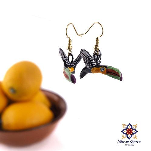 Leonardo Isidoro Cruz: Tucán Earrings