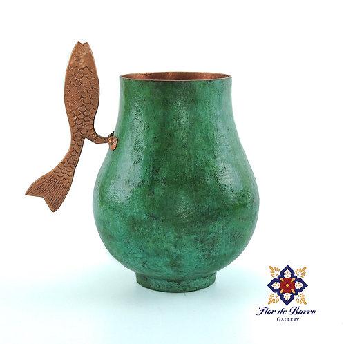 Sergio Velazquez: Copper Fish Mug