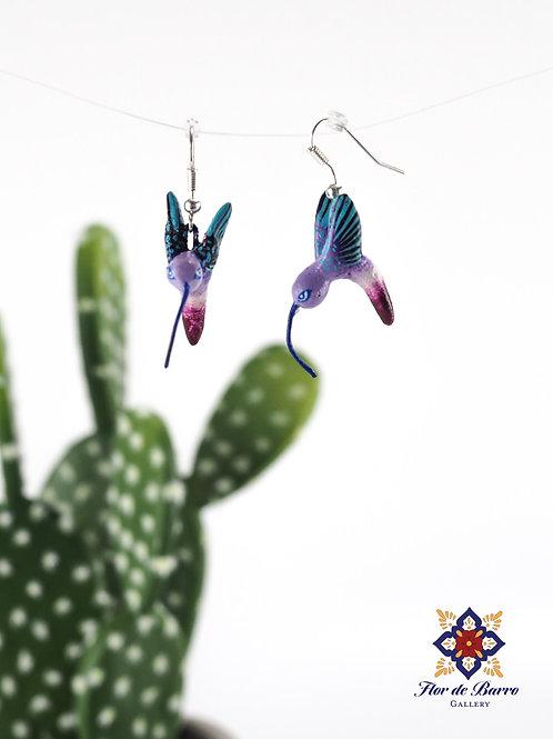 Leonardo Isidoro Cruz: Hummingbird Earrings