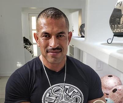 Hector Gallegos at Flor de Barro Gallery El paso texas