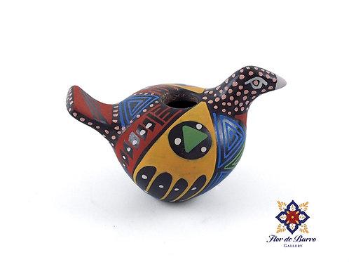 Minerva Pedregon: Colorful Mini Bird