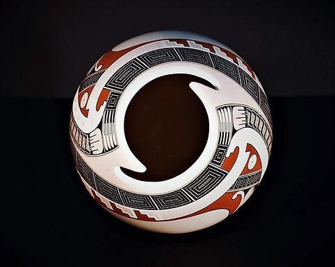 Juan Quezada Pottery at Flor de Barro Gallery