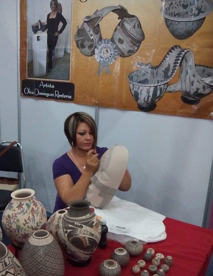 Olivia Dominguez Working