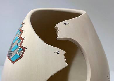 Two Faces by Jerardo Tena.