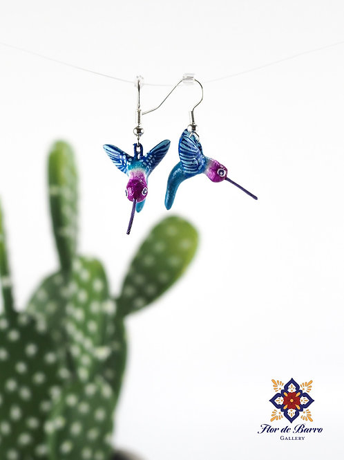 Leonardo Isidoro Cruz: Hummingbird Earrings