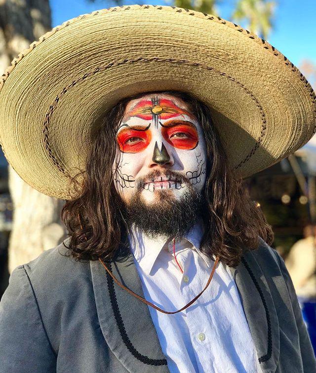 Dia de Los Muertos is happening in Mesil