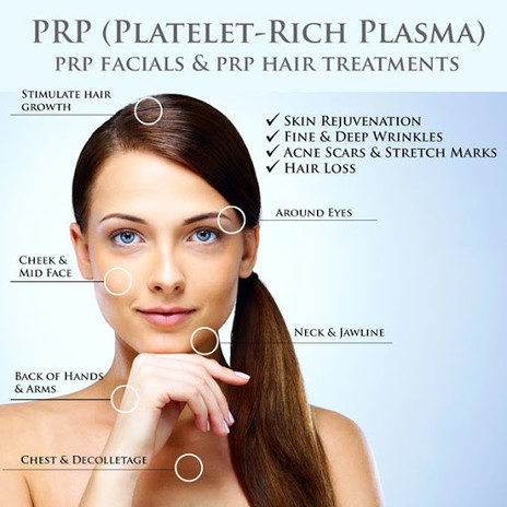 PRP FACIAL AND HAIR TREATMENT