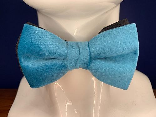 Light blue velvet