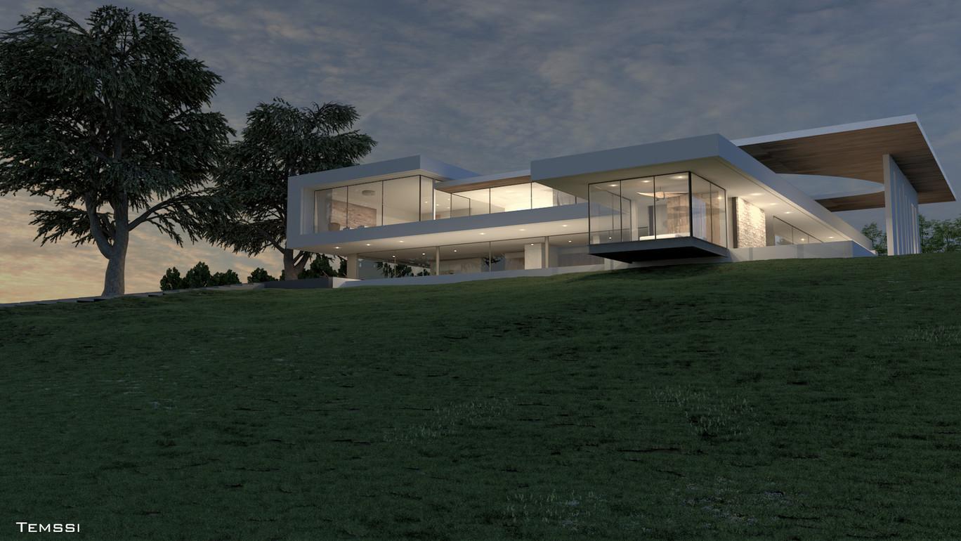 Temssi - Outdoor Visualization - Villa -