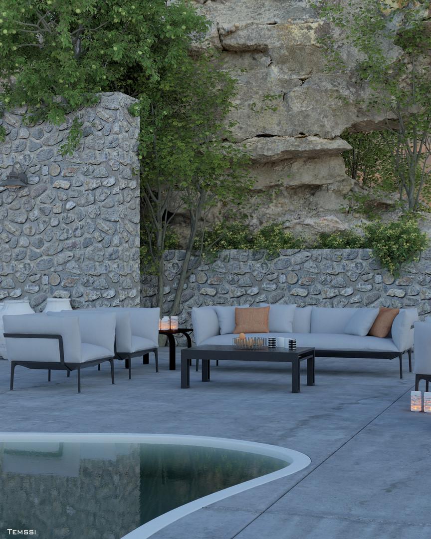 Temssi - Outdoor Visualization - Garden