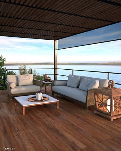 Temssi - Outdoor Visualization - Balcony