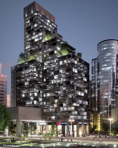 Temssi - Outdoor Visualization -  Tower