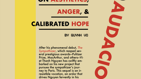 Creating Audaciously: On Aesthetics, Anger, & Calibrated Hope