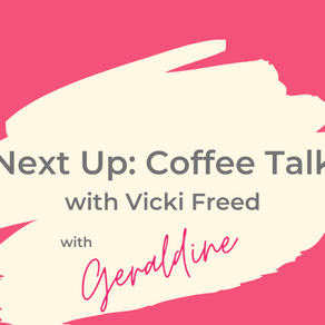 Up Next: Coffee Talk With Vicki Freed