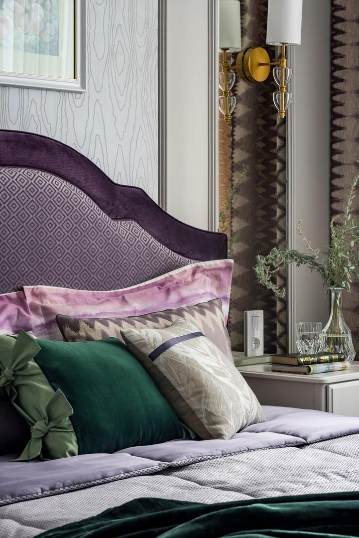 текстиль спальни