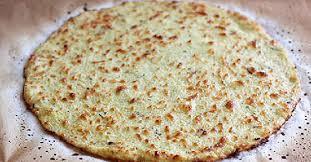 Cauliflower Pizza Crust-Dairy Free