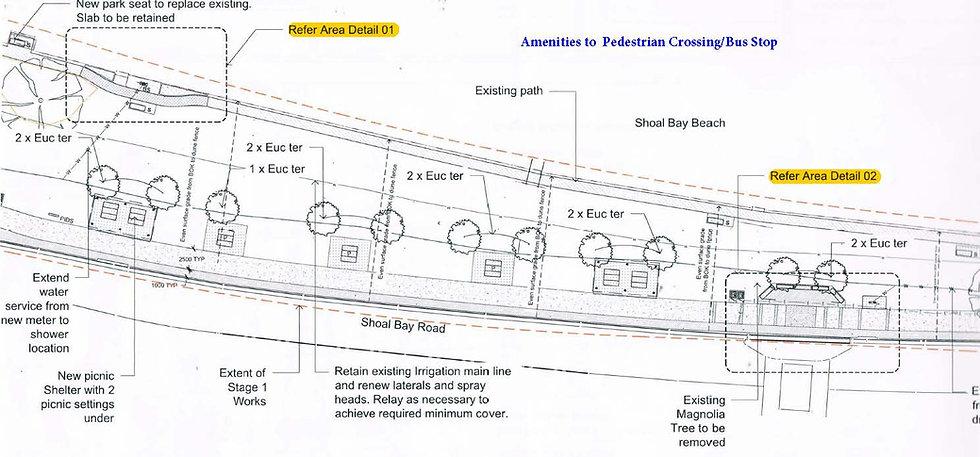 Amenities Block to Bus stop & Pedestrian Crossing.jpg