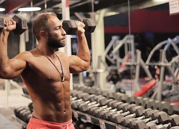 برنامج بناء و تقوية العضلات في الجيم - 3 اشهر