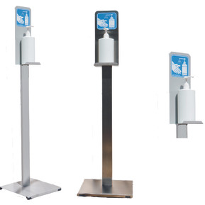 Floor stand for disinfection