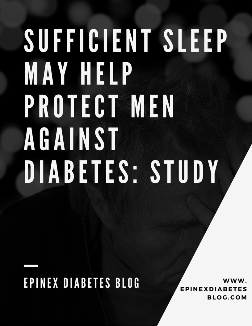 Sufficient sleep may help protect men against diabetes: Study Epinex