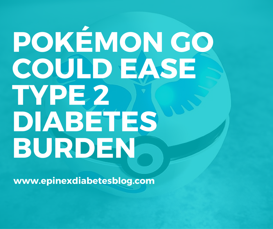 Pokémon Go could ease Type 2 diabetes burden