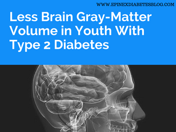"""Less Brain Gray-Matter Volume in Youth With Type 2 Diabetes"""