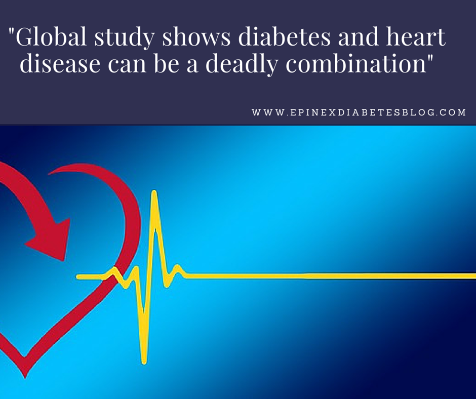 Global study shows diabetes and heart disease can be a deadly combination